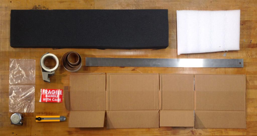 Art packing materials