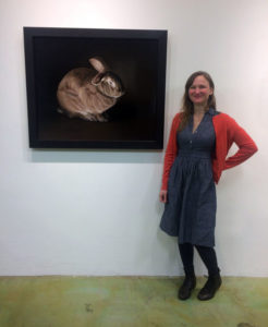 Rebecca Luncan's Into the Country art opening