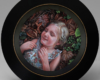 miniature Portrait painting of Maggie by Rebecca Luncan