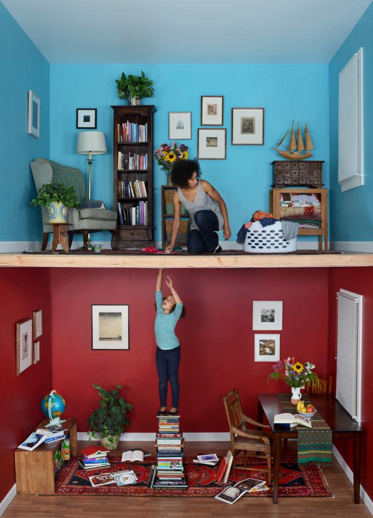"Jennifer Zwick, ""The Moment"" 2017, 28.8"" x 40"" Archival pigment print"