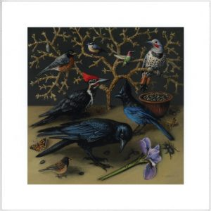 Limited edition prints from original paintings by Rebecca Luncan
